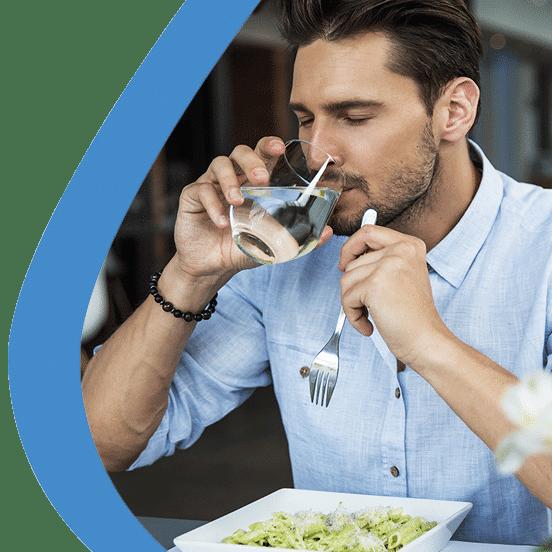 Minarell Premium Wasser Menschen Beispiel